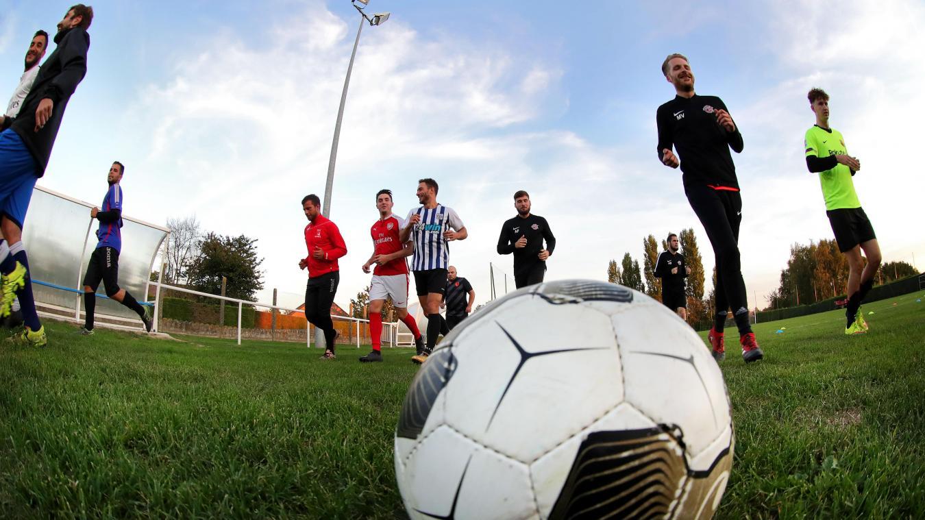 Dimanche Les Petits Gars DHamel Vont Affronter Une Equipe Qui Evolue Quatre Divisions Au Dessus Deux PHOTO LUDOVIC MAILLARD