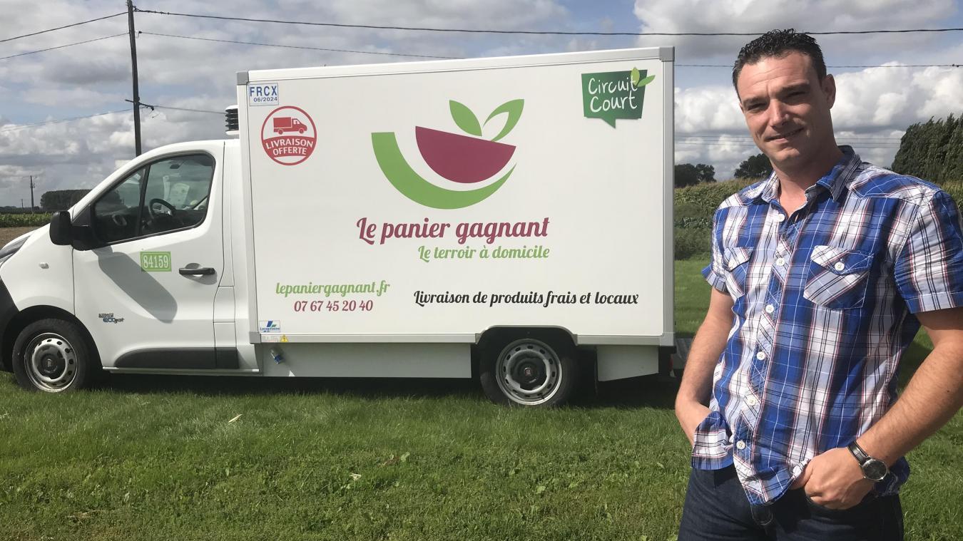 Ennetières-en-Weppes : Il livre des produits locaux à domicile, pour  réconcilier ville et campagne