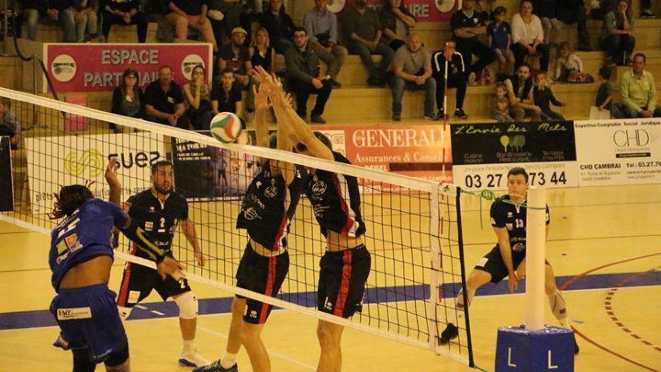 Volley Ball Ligue B Cambrai Vainqueur D Un Surprenant Promu S