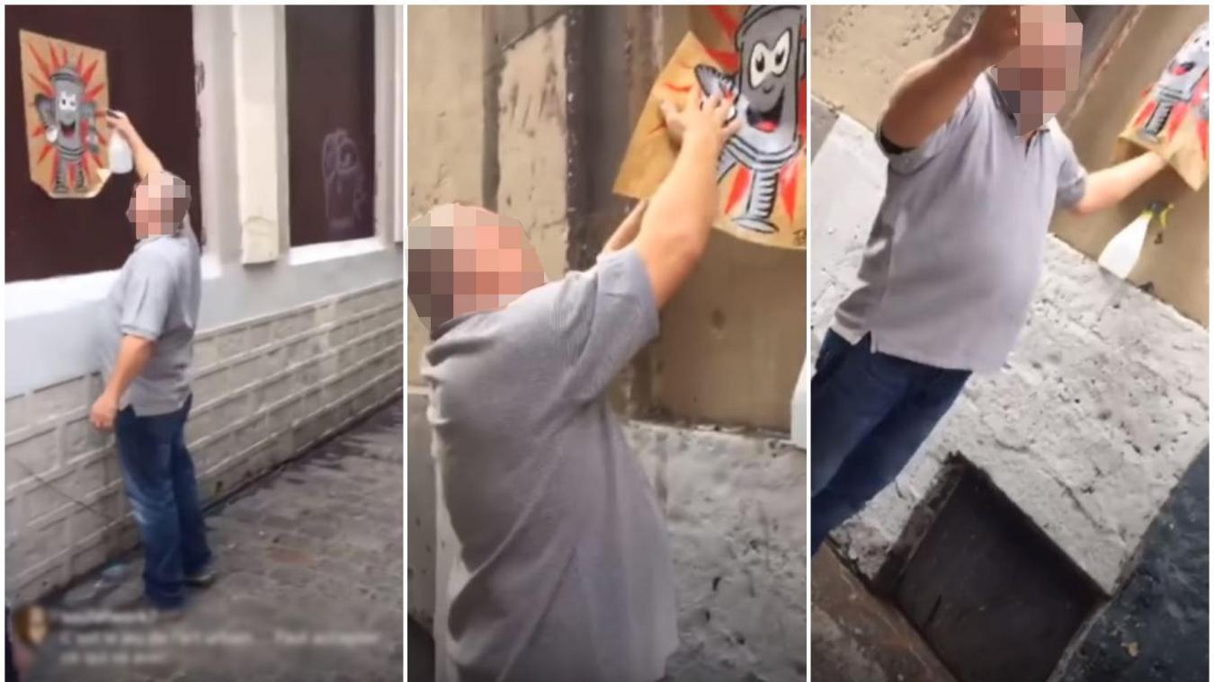 Lille Mais qui est le serial arracheur d'œuvres de street art dans les rues de Lille ?