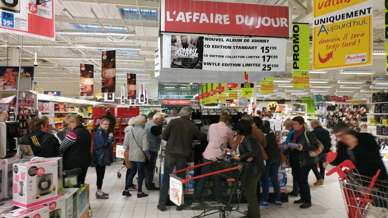 Longuenesse Coup De Chaud Ce Vendredi Au Rayon Disques D Auchan