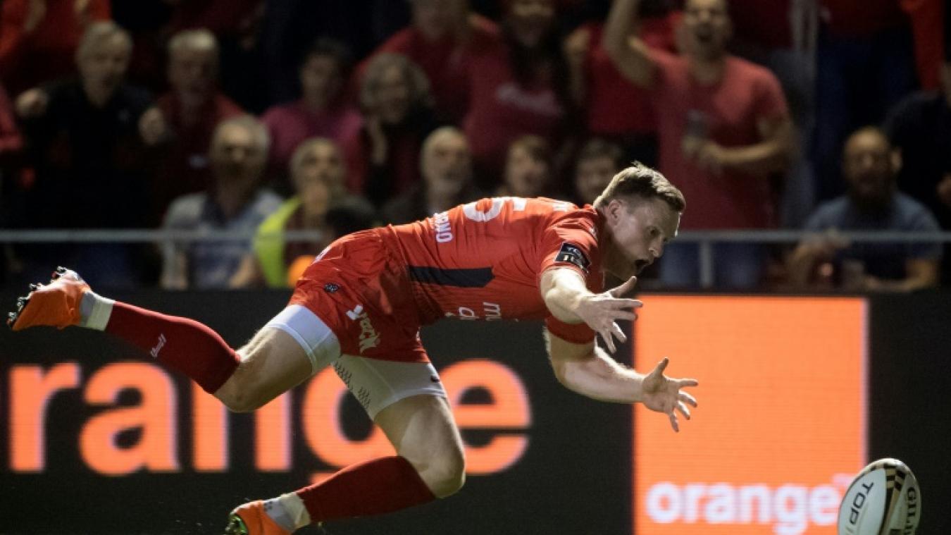 Rugby: Ashton remercie Toulon pour son retour en sélection anglaise