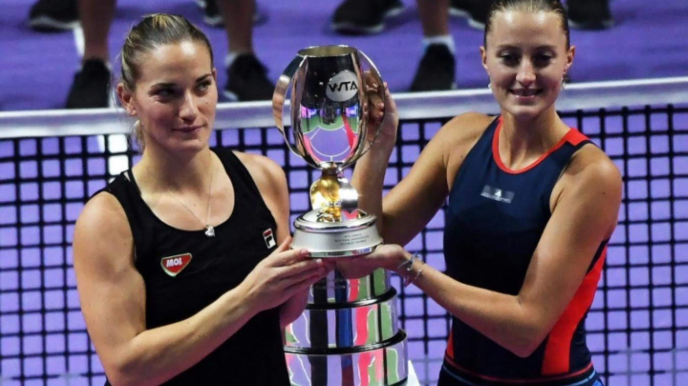 Timea Babos et Kristina Mladenovic remportent le double — Masters
