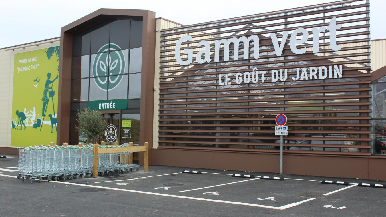 grossiste c1bf6 b8cb4 Estaires De bons débuts pour le nouveau magasin Gamm Vert