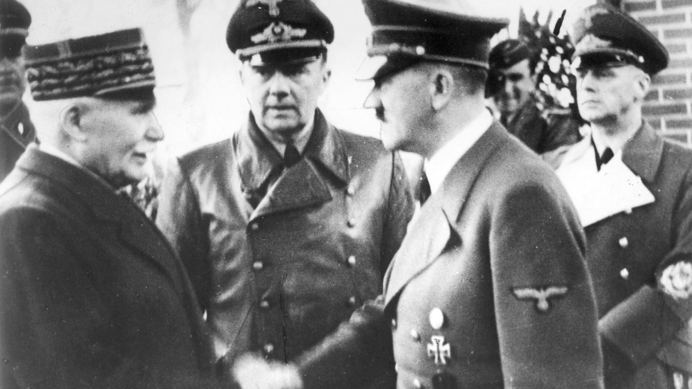 Hommage aux chefs militaires de la Grande Guerre, dont Pétain — France