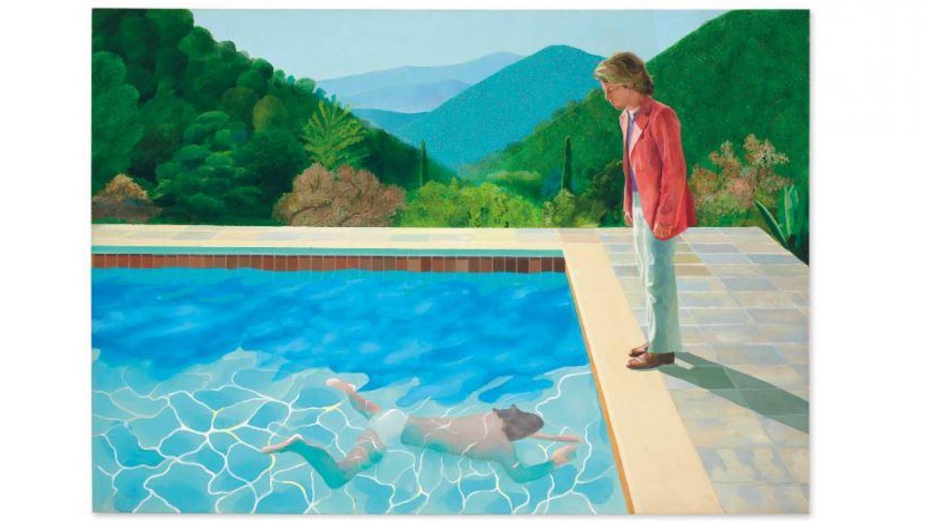 Une Toile De David Hockney Vendue 90 Millions De Dollars Un Record Pour Un Artiste Vivant