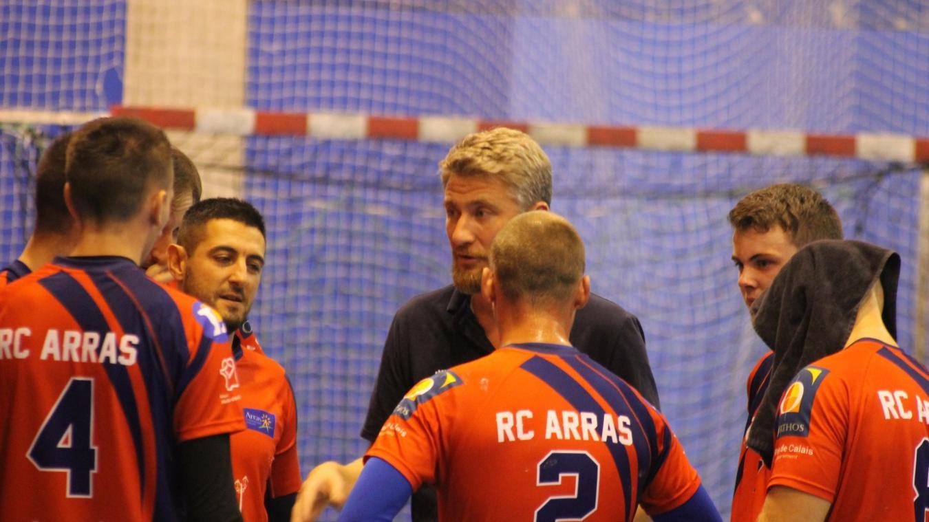 5aeb3480c93 L entraîneur arrageois n a pas apprécié la dernière sortie de son équipe.
