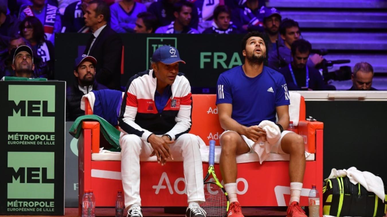 La France reste en vie grâce au double — Coupe Davis