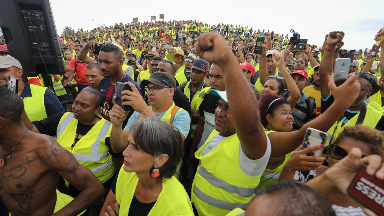 Mobilisation, samedi, des Gilets jaunes sur l'île. Elle ne faiblit pas.