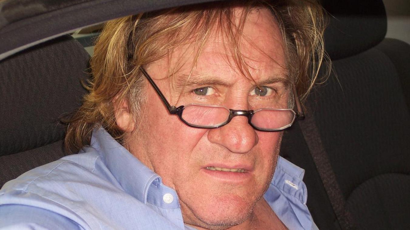 Gérard Depardieu entendu par la police — Plainte pour viol