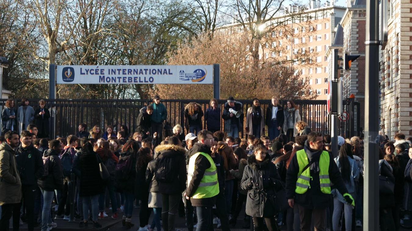 Lille: Le lycée Montebello bloqué, Parcoursup ne passe toujours pas