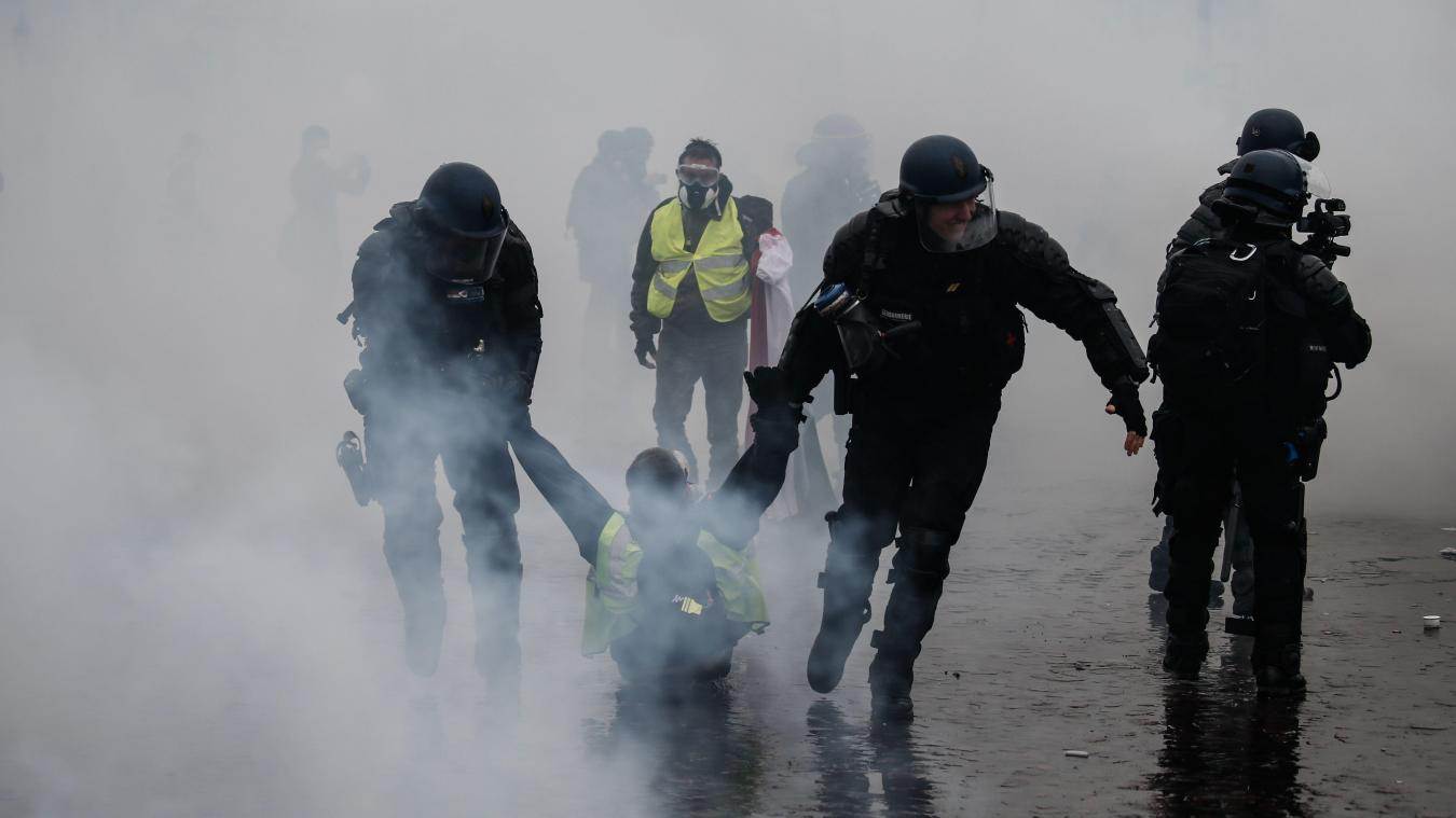 Enquête sur un viol présumé à Paris — Gilets jaunes