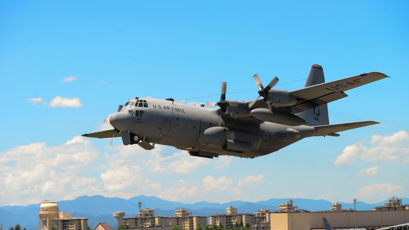Collision entre deux avions militaires américains — Japon