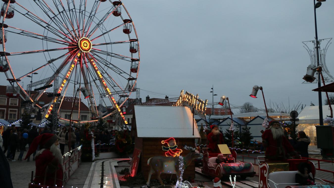 Cette année sera marquée par le retour de la grande roue sur la place Albert-Denvers.