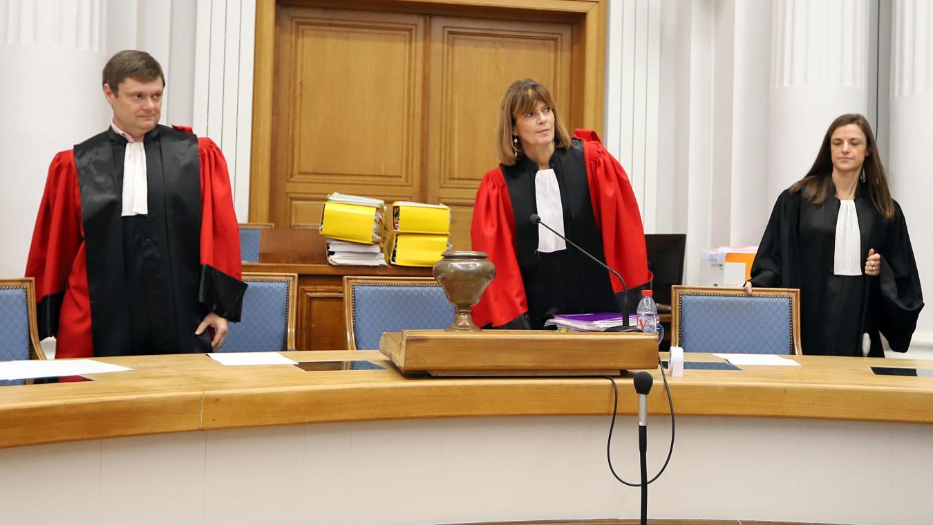 Au troisième jour, la cour, présidée par Nourith Reliquet, reconstitue la préparation et le déroulement du braquage. PHOTO MATTHIEU BOTTE