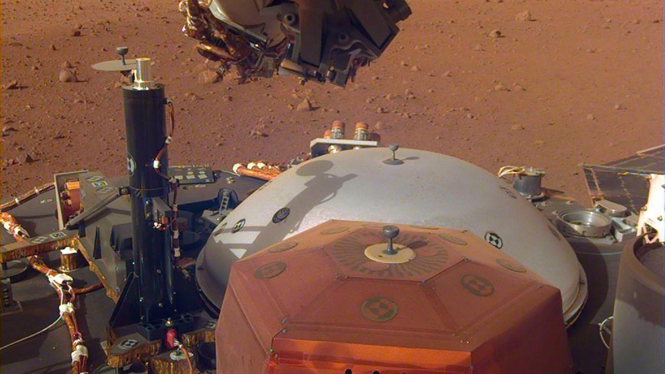 Les premiers enregistrements du vent sur Mars — InSight