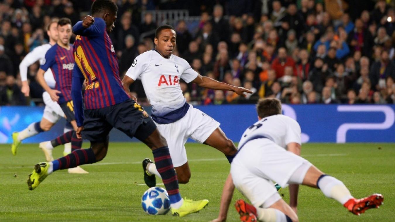 Dembélé voit Alba venir à son secours — Barcelone