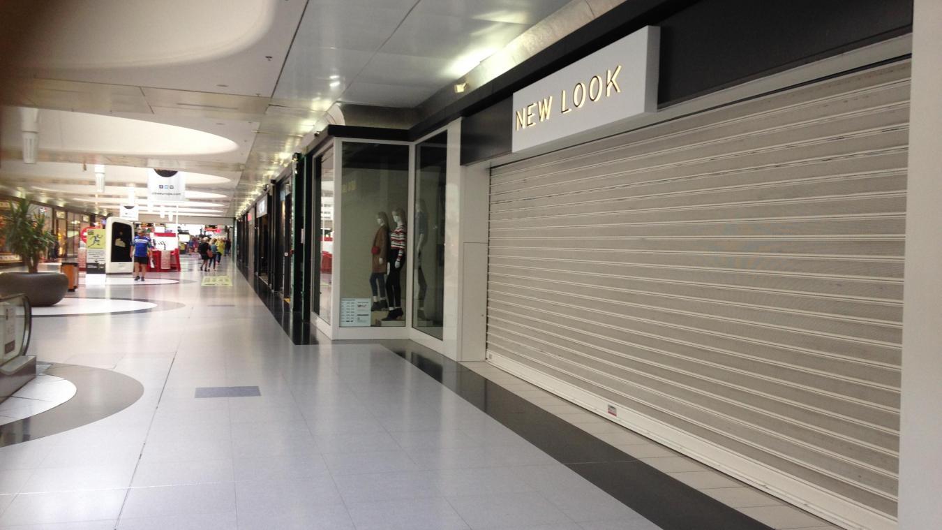 f799dfaa687 Le magasin New Look est fermé depuis la mi-septembre.