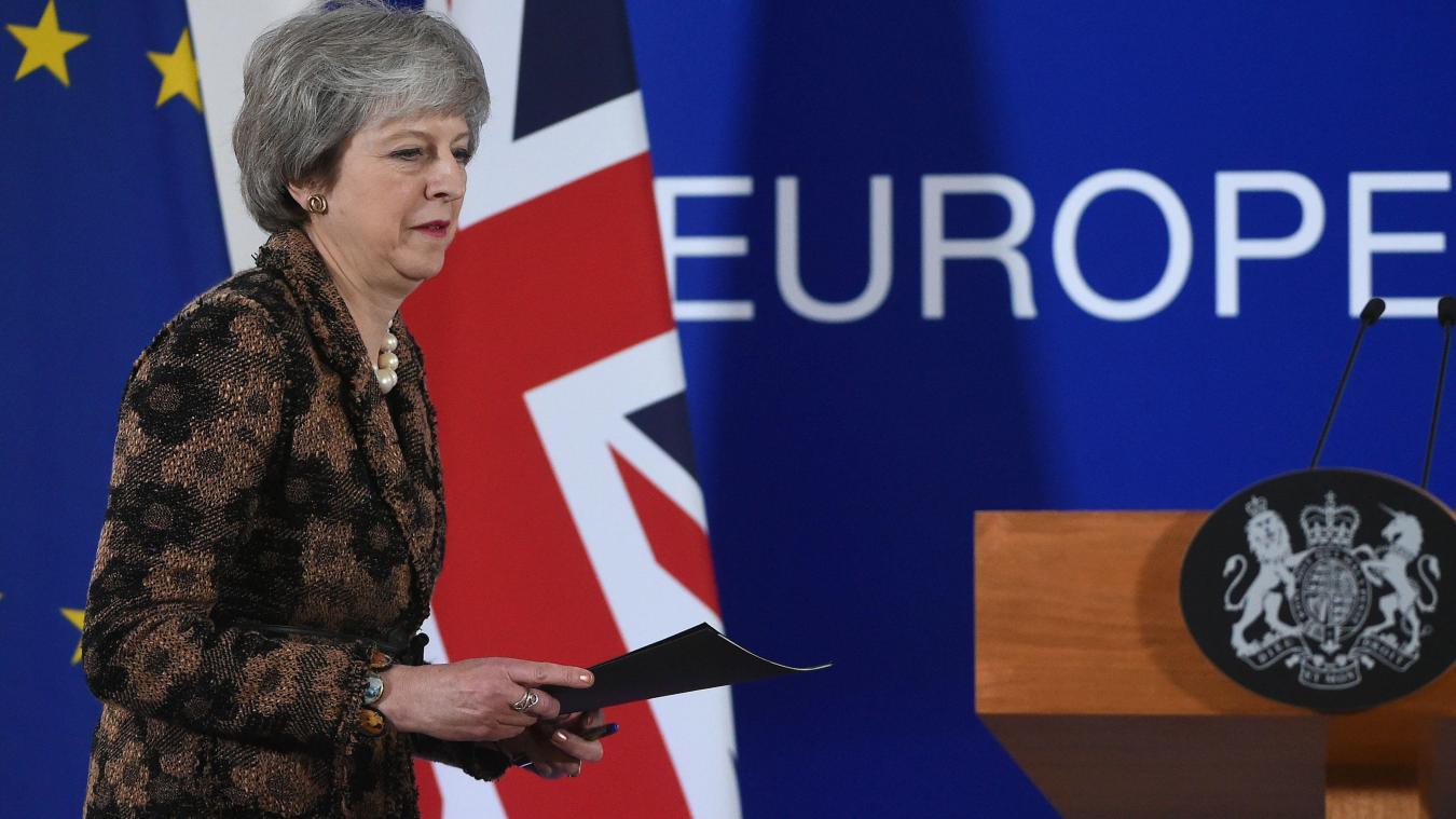 Theresa May condamne les appels à un second réferendum — Brexit