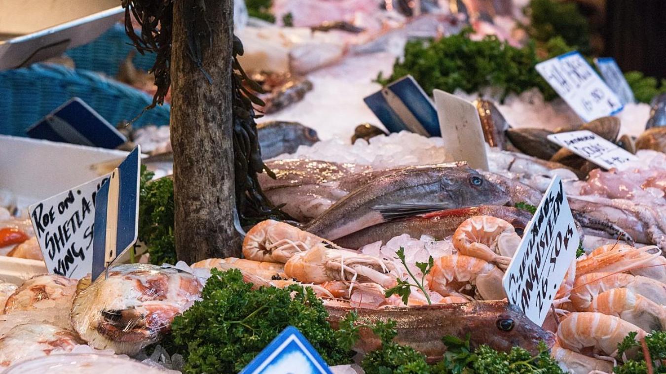86% des poissons vendus en grande surface sont