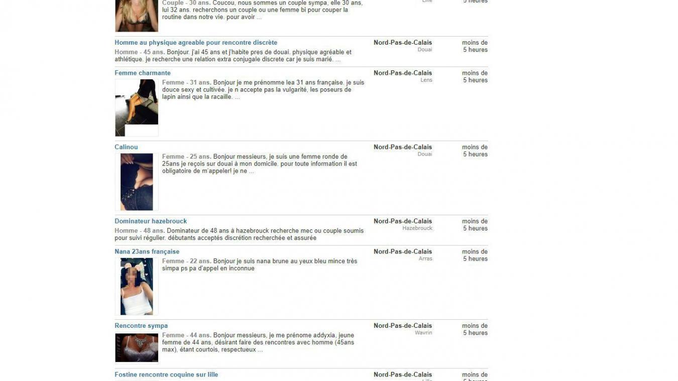 prostituées rencontres sites Web