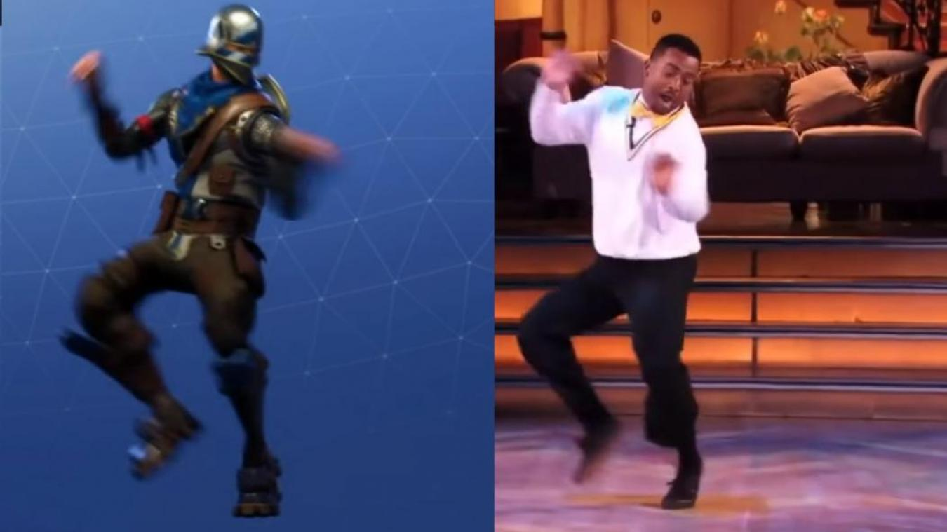 Carlton du Prince de Bel Air attaque Fortnite pour vol