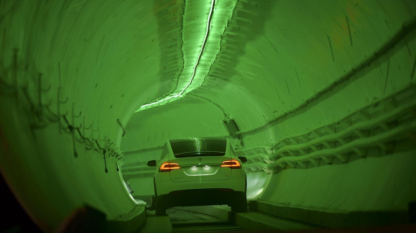Los Angeles Elon Musk Devoile Son Tunnel Pour Contourner Les Embouteillages