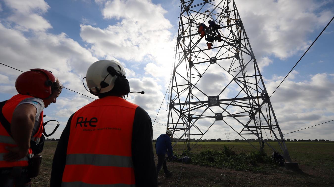 La France a frôlé la panne générale d'électricité, la faute à une sous tension sur le réseau électrique. PHOTO archives MATTHIEU BOTTE LA VOIX DU NORD