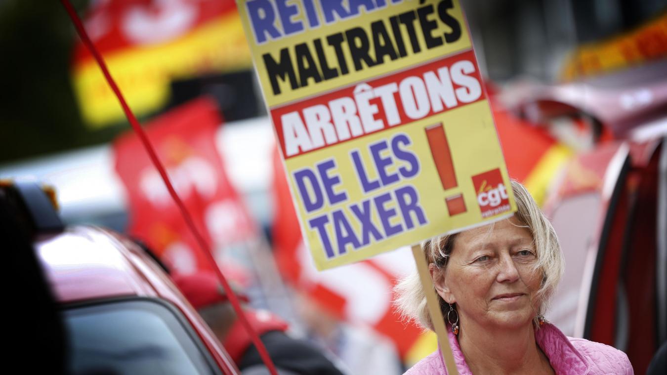 Pouvoir d'achat: une retraitée lance une pétition