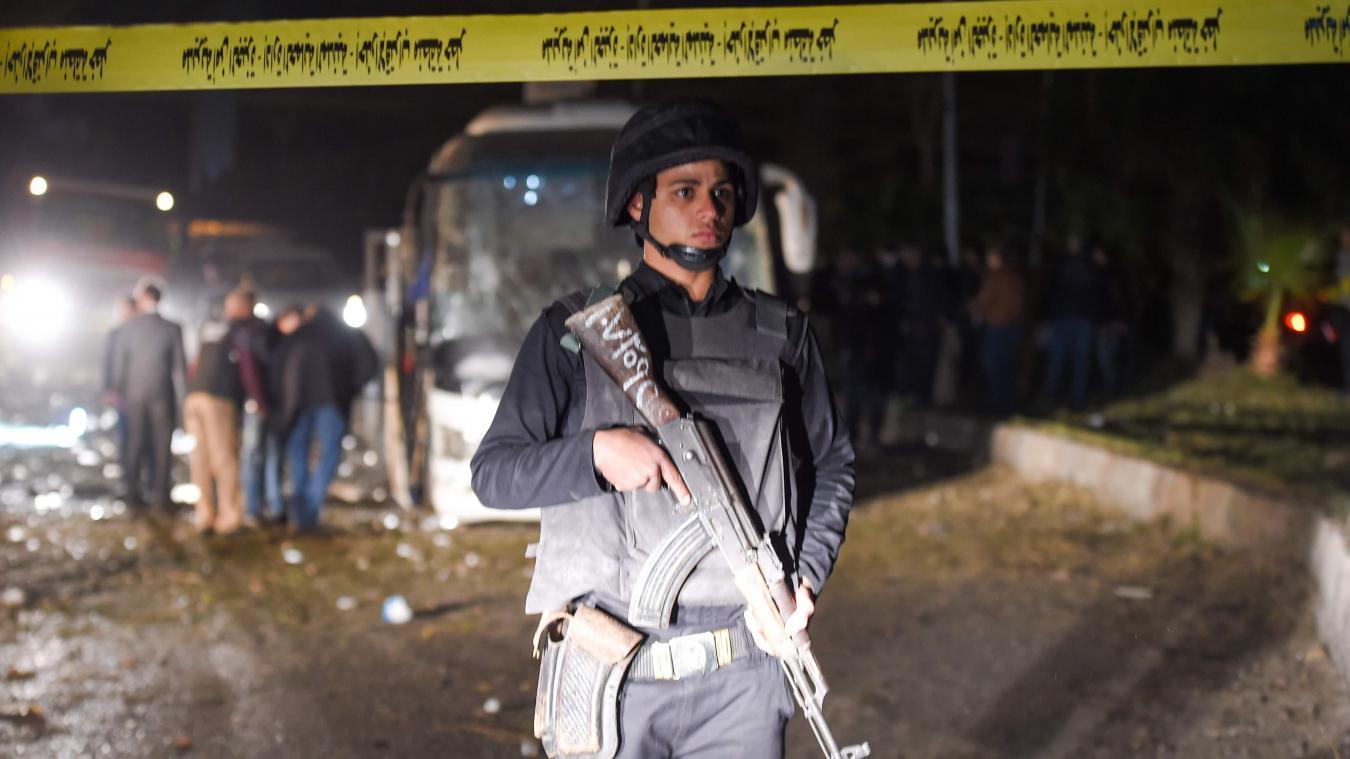 Les forces de sécurité ont tué samedi «40 terroristes» dans plusieurs raids en Egypte. photo AFP
