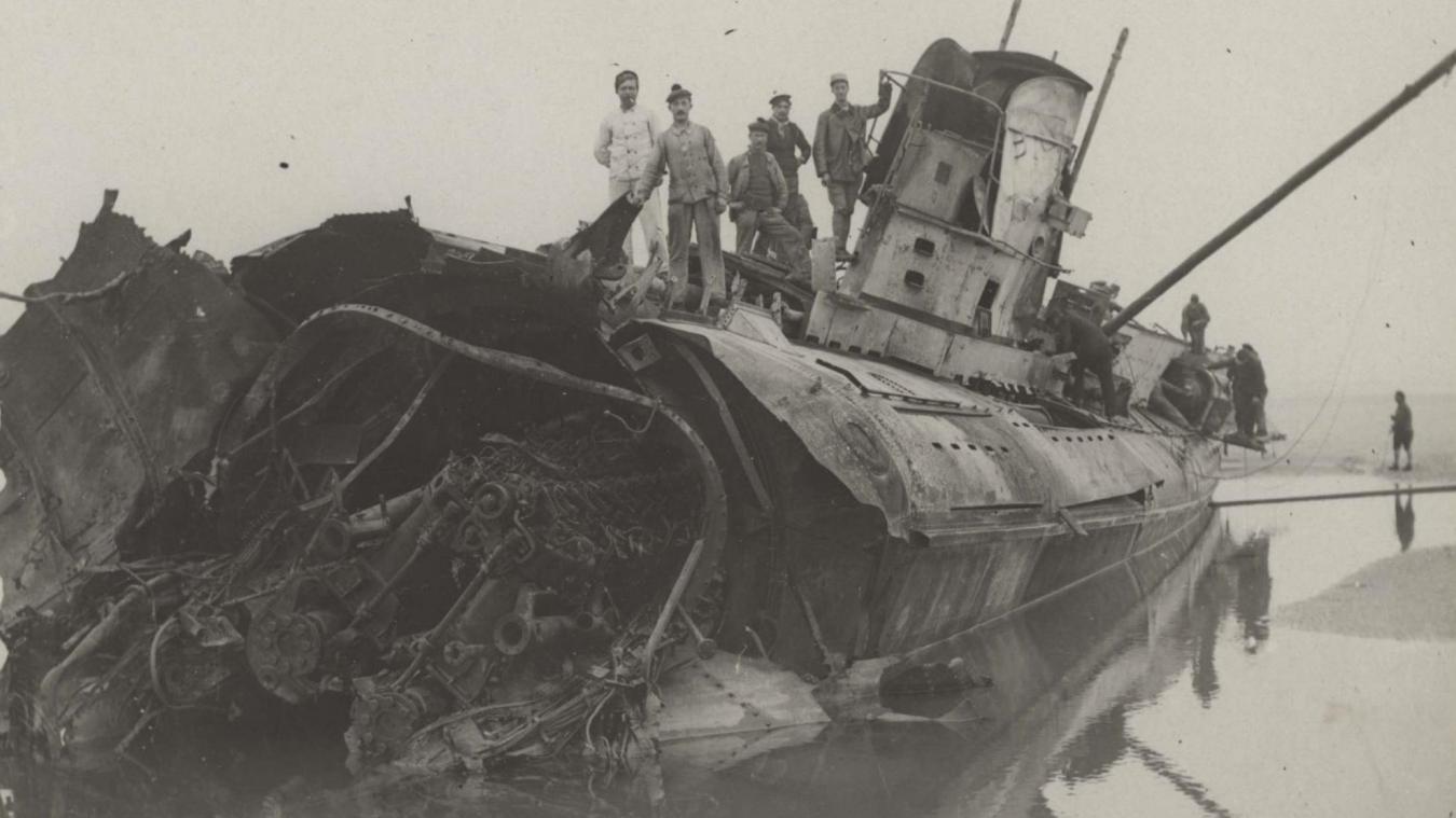 Wissant Un sous-marin allemand qui s'était échoué en 1917 resurgit des sables B9718100949Z.1_20190101195124_000%2BG4NCMRKRK.1-0