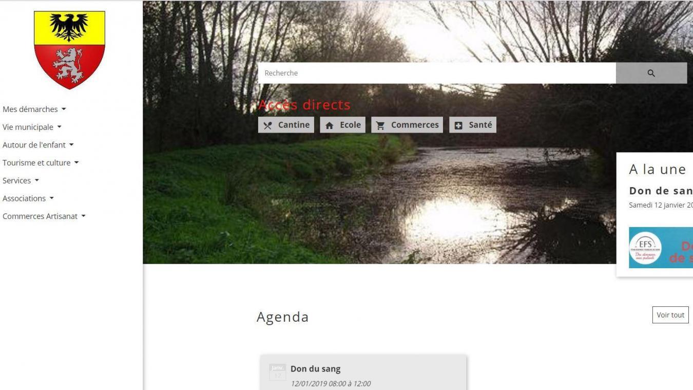 Le site internet de la commune est désormais accessible sur  a href http  2b77444c0f77