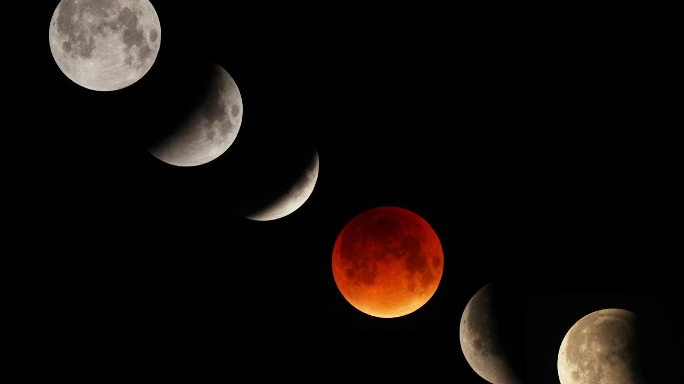 En janvier, la Lune va se parer d'orange