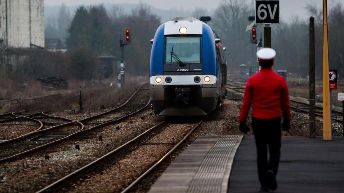 La concurrence entre en gare — SNCF