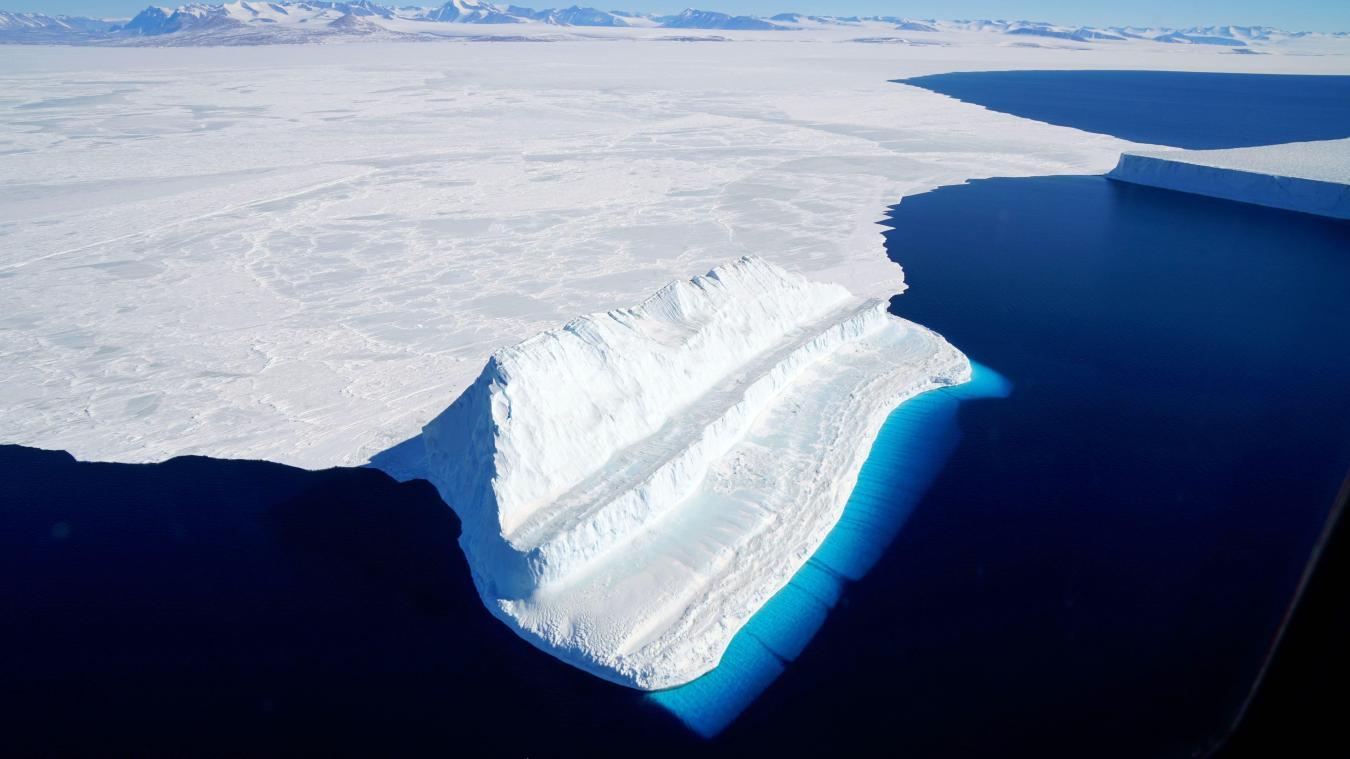 Réchauffement climatique La glace de l'Antarctique fond plus ...