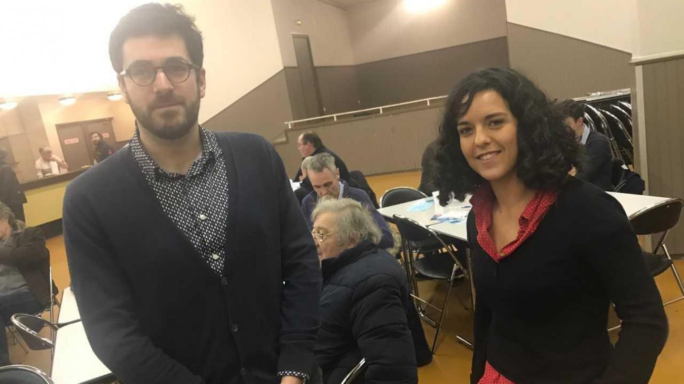 Villeneuve d'Ascq Novice en politique, la tête de liste France
