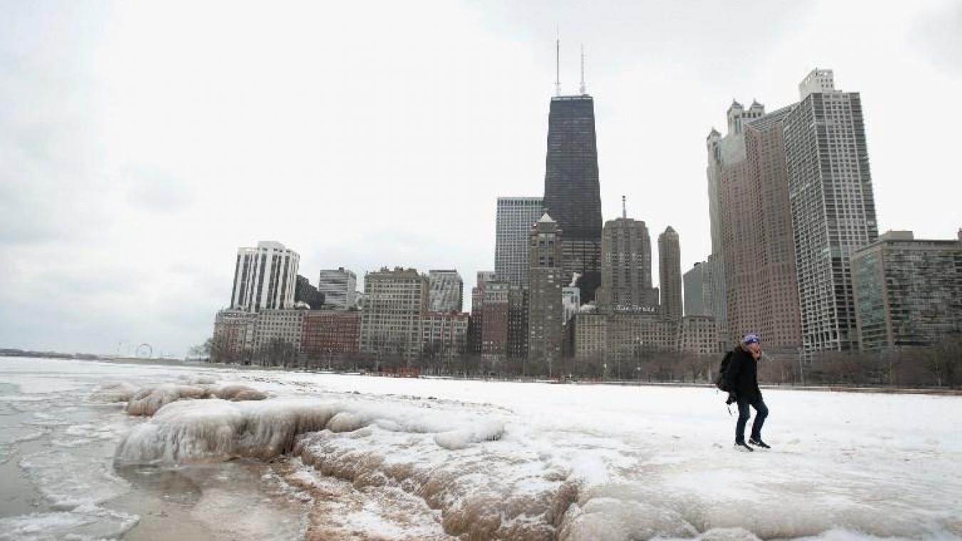 Une vague de froid polaire frappe le nord du pays — Etats-Unis