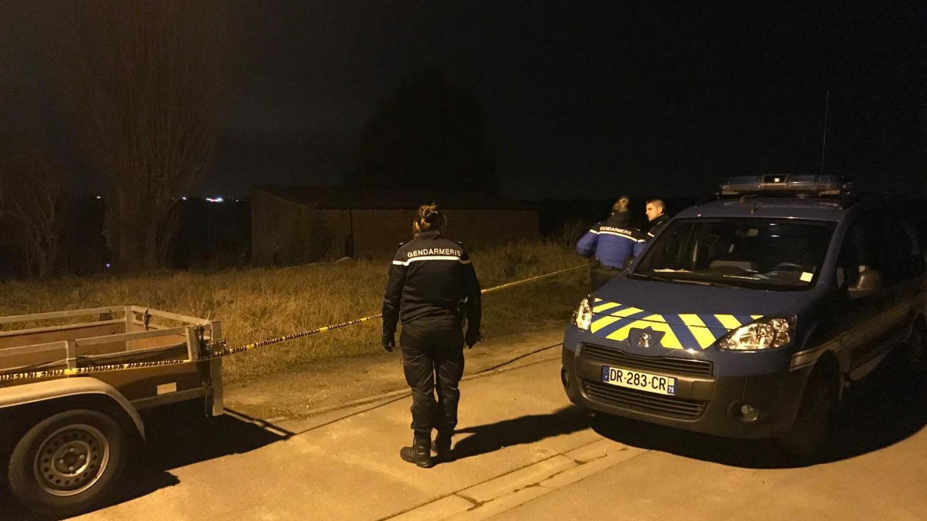 Le corps a été découvert au bout de la rue de l'Abbé-Catry, à Bray-Dunes.