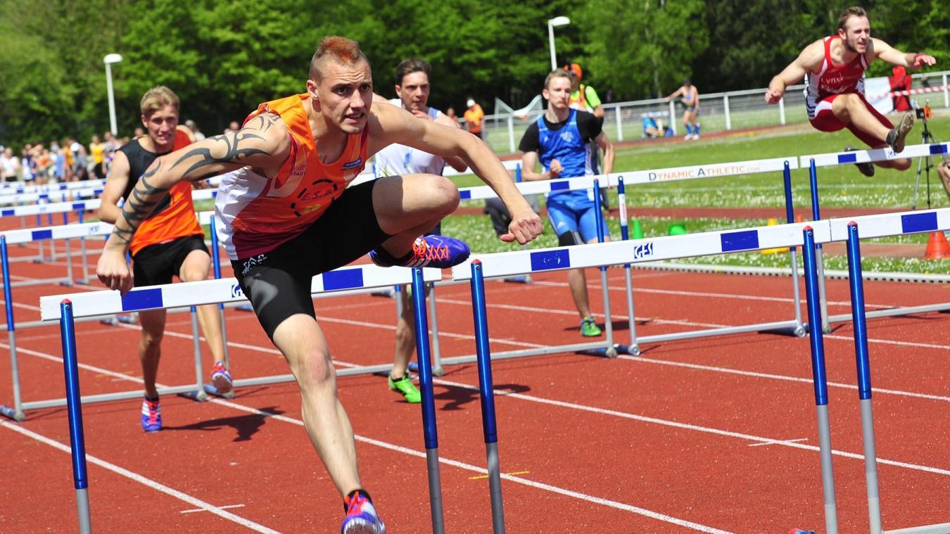 Dylan Caty, le sprinter de l'ESA 59.