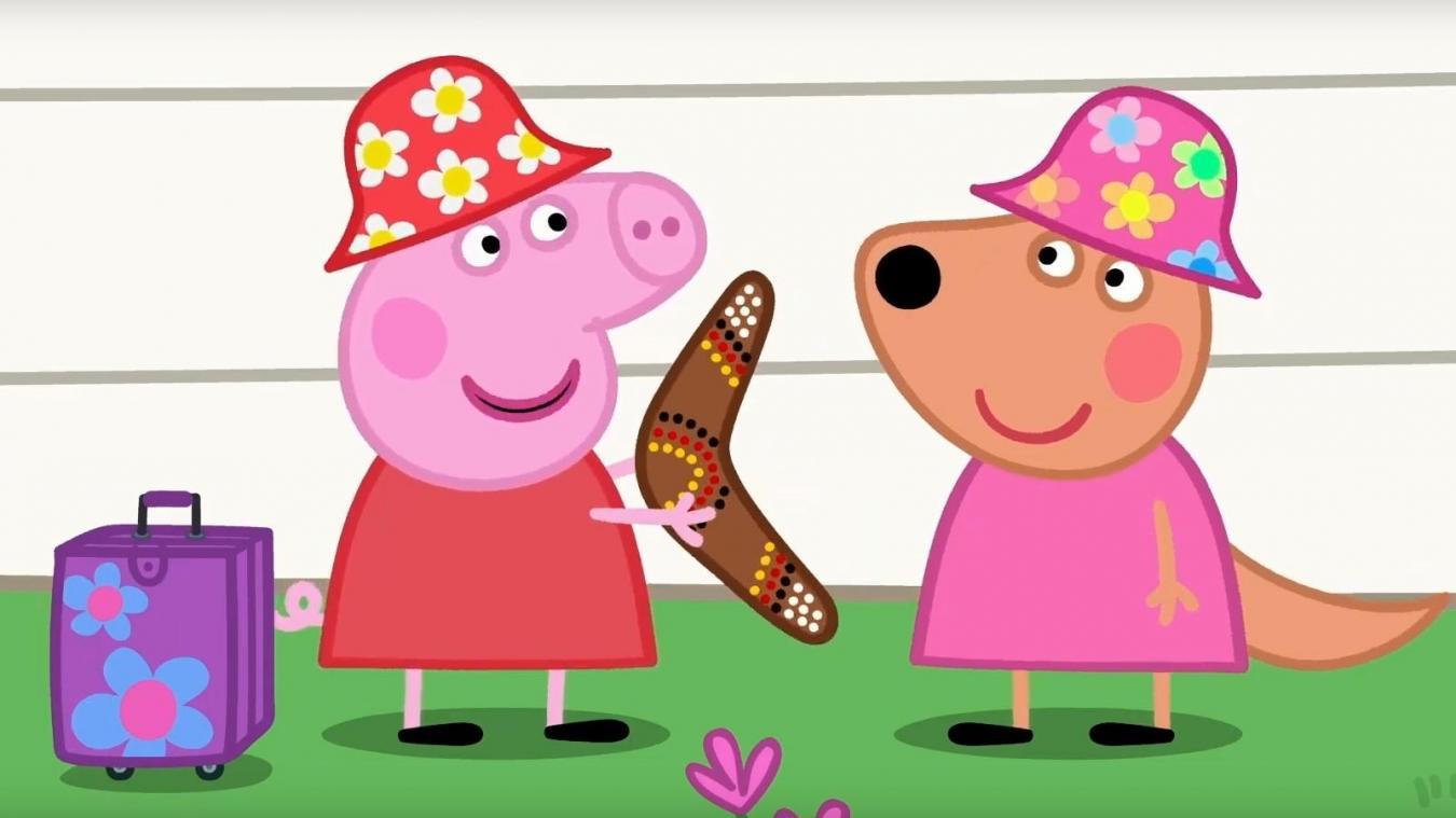 Dessin Anime Les Enfants Americains Developpent Un Accent Britannique A Cause De Peppa Pig