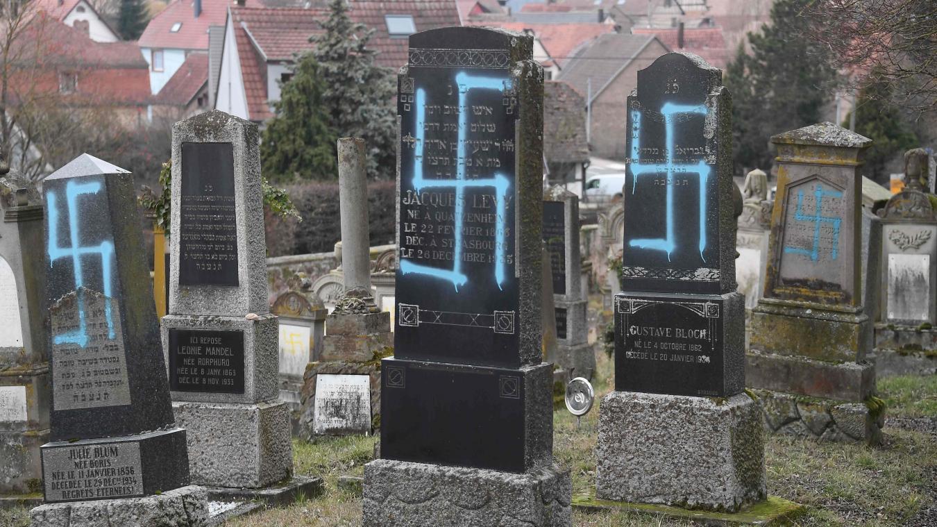 Un cimetière juif profané en Alsace à Quatzenheim — Antisémitisme