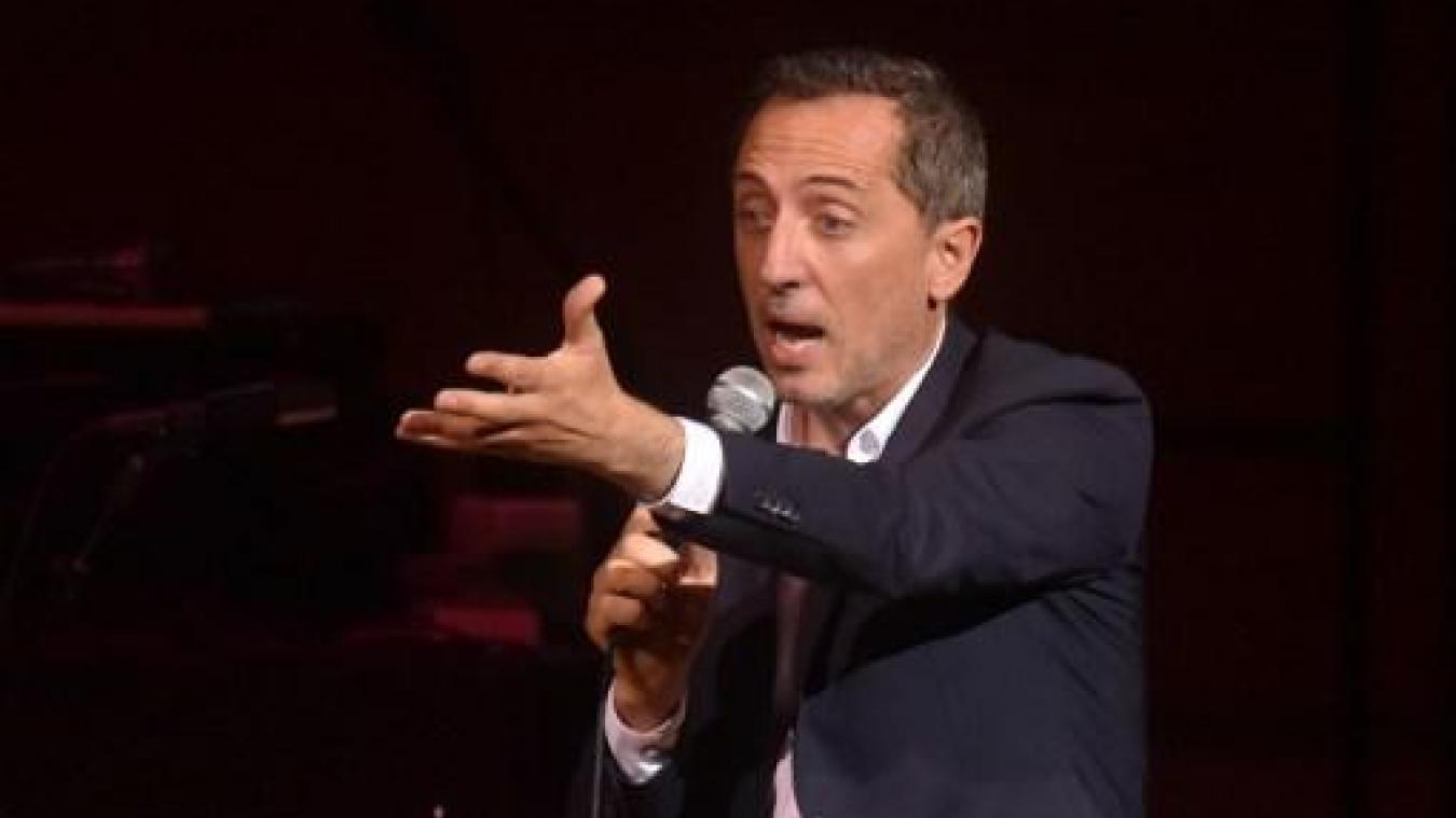 Gad Elmaleh fait supprimer des vidéos qui l'accusent de plagiat — Twitter