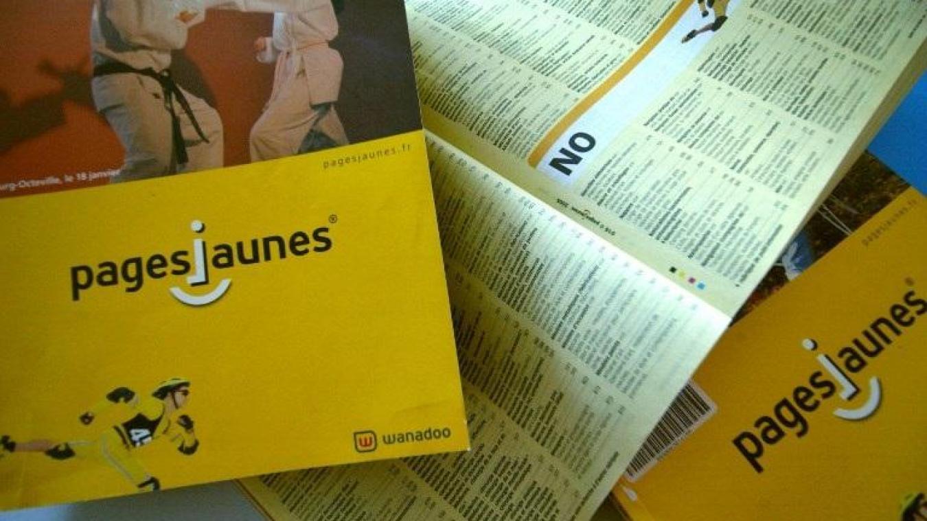 Les Derniers Annuaires Papiers Sarreteront Fin 2019 Pour Pages Blanches Celles Reservees