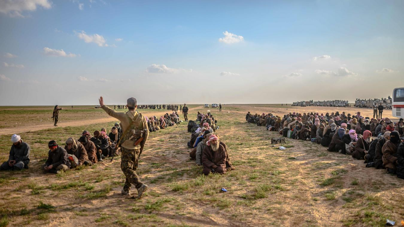 14 djihadistes français ont été remis aux autorités irakiennes — Syrie