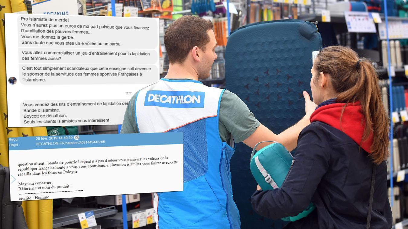 cea84b6200 Des vendeurs Decathlon ont été menacés physiquement suite à une polémique  sur le hijab. PHOTO