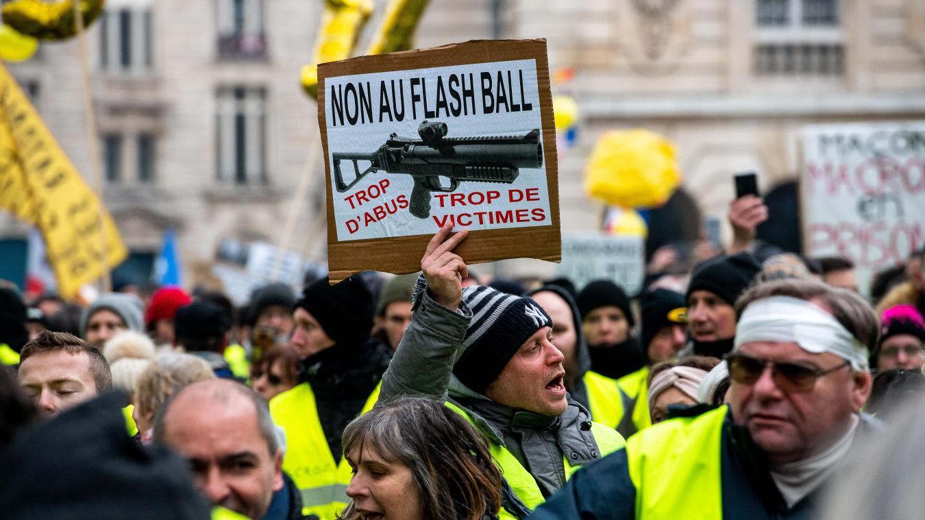 03c0d97237b Lille et Tourcoing  Encore un Gilet jaune condamné pour violence sur ...