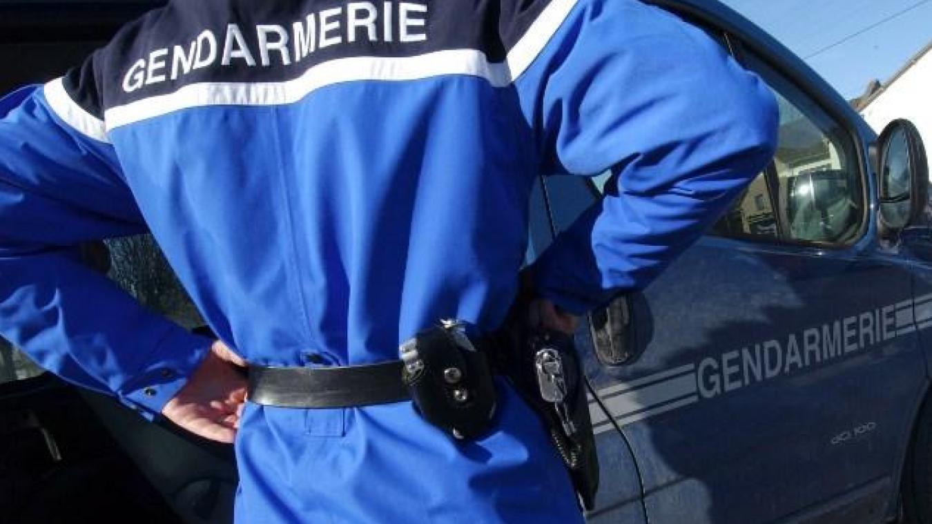 Les gendarmes de Bourgoin-Jailleu ont arrêté 10 personnes jeudi dans le cadre d'une affaire de pédophilie sur trois frères et soeurs. (Photo by MYCHELE DANIAU / AFP)