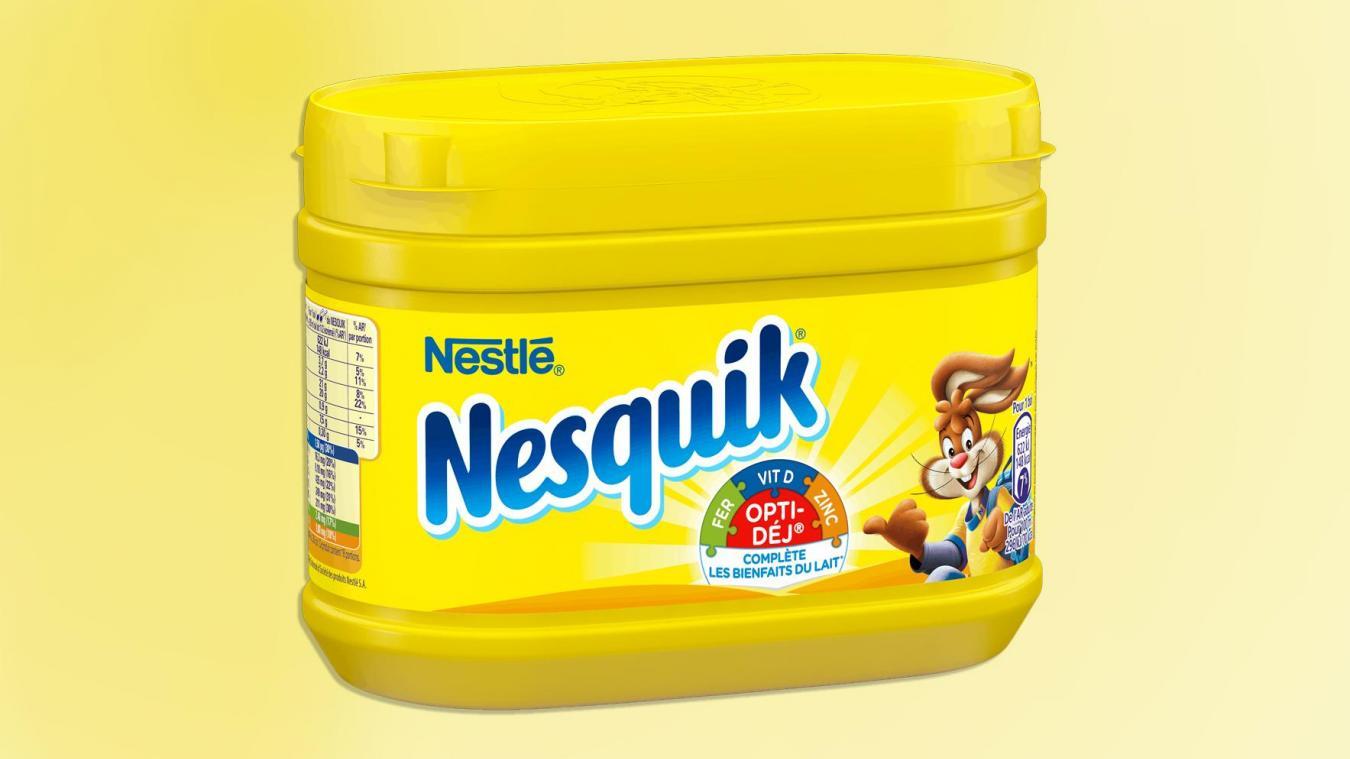 Nestlé: La fameuse boîte jaune Nesquik va disparaître