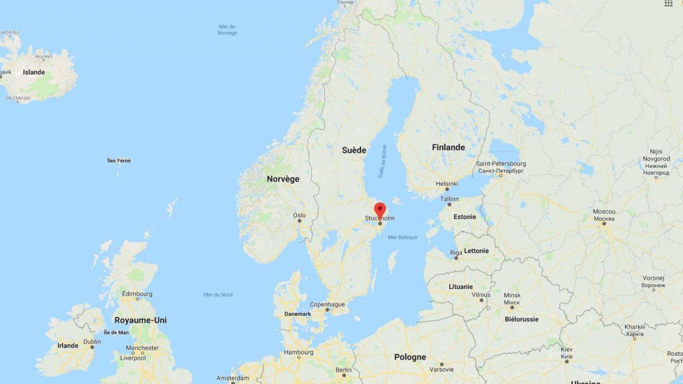 Violente explosion d'un bus dans le centre de Stockholm — Suède