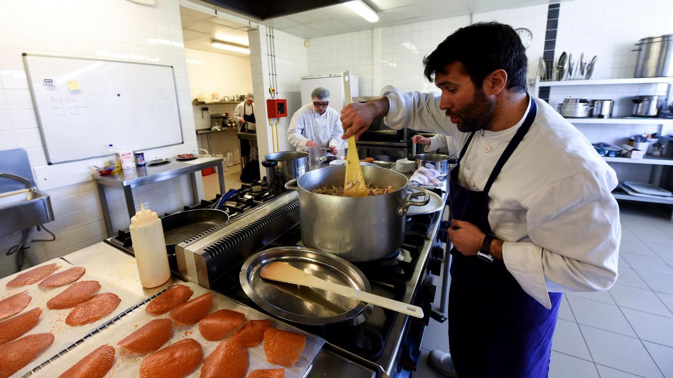 Tourcoing En Immersion Dans La Cuisine Du Restaurant D Application